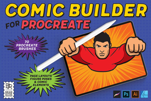 Comic Builder for Procreate - Brian Ritter Design