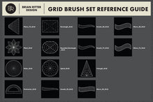 Load image into Gallery viewer, Drawing Grid Brushes For Procreate - Brian Ritter Design