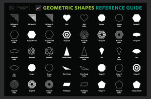 200 Geometric Shapes for Procreate