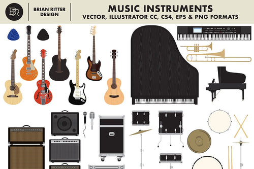 Music Instruments - Brian Ritter Design