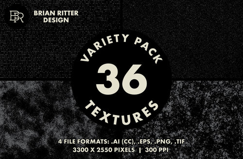 Textures Variety Pack - Vol. 1 - Brian Ritter Design