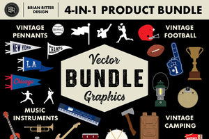 Vector Graphics 4-in-1 Bundle - Brian Ritter Design