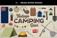 Load image into Gallery viewer, Vintage Camping Gear - Brian Ritter Design