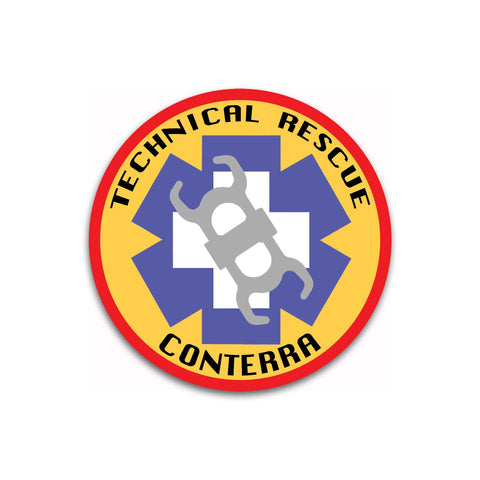 Conterra Technical Rescue Sticker