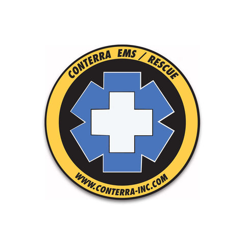 "Conterra ""Yellow Jacket"" Sticker"