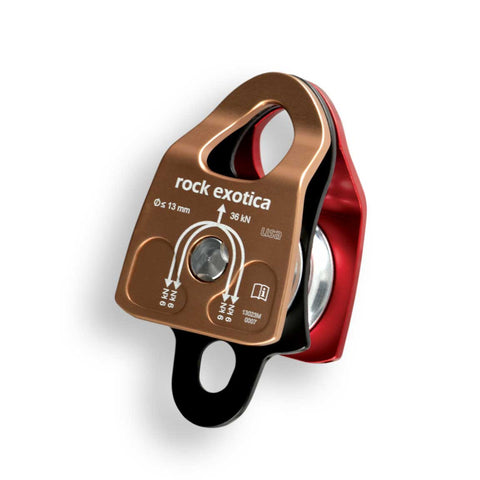 Rock Exotica Double Rescue Pulley