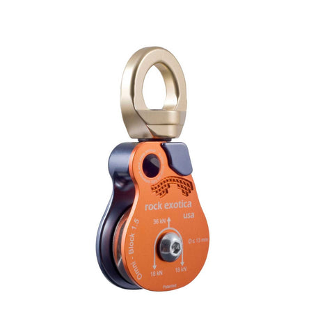 Rock Exotica Omni Block Pulley