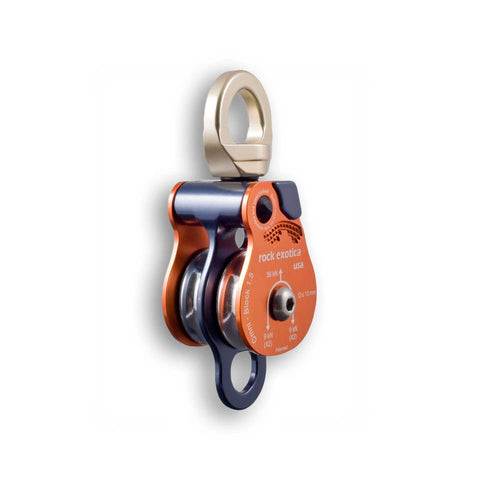 Rock Exotica Twin Omni Block Pulley 1.5