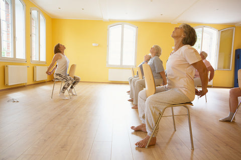 Aging and yoga