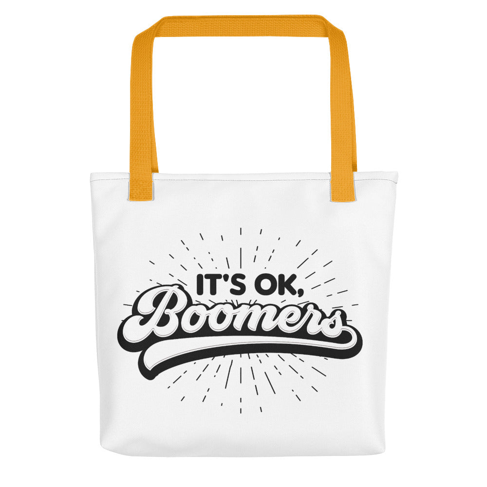 Baby Boomers Tote Bag