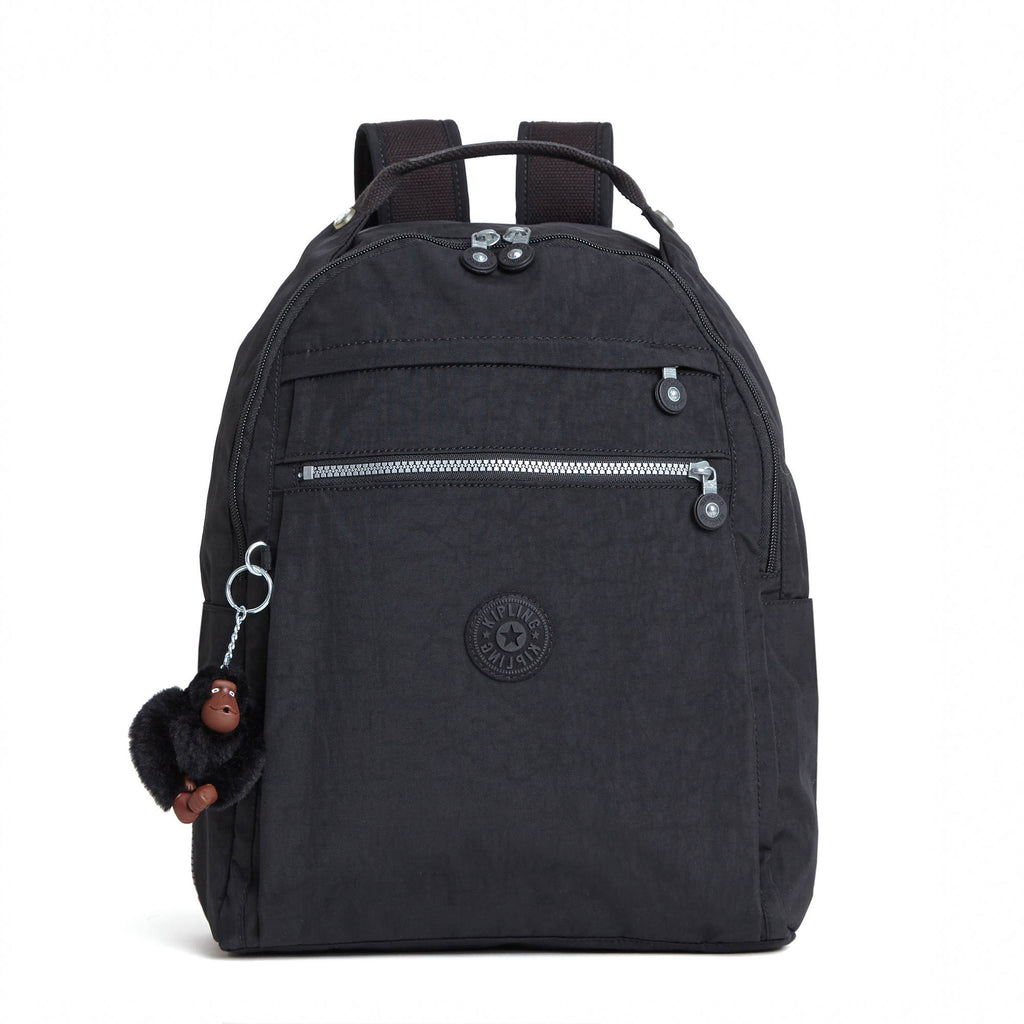 "Kipling Micah Medium 15"" Laptop Backpack - Black"