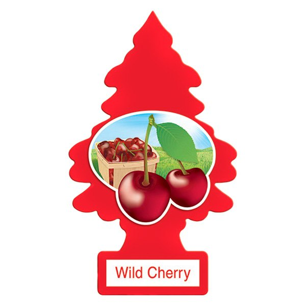Aromatizante para carro - Little Trees (Wild Cherry) (24 UNIDADES)