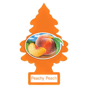 Aromatizante para carro - Little Trees (Peachy Peach) 6 UNIDADES