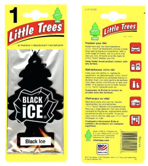 Aromatizante para carro - Little Trees (Black Ice)24 UNIDADES - DISPLAY BOX