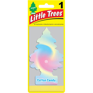 Aromatizante para carro - Little Trees (Cotton Candy) 24 UNIDADES