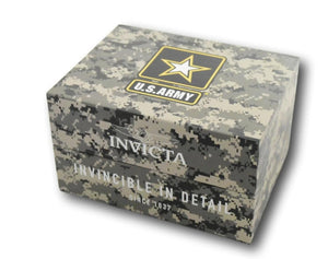 Invicta 31841 - INVICTA ARMY MENS QUARTZ 46MM STAINLESS STEEL CAMOUFLAGE DIAL