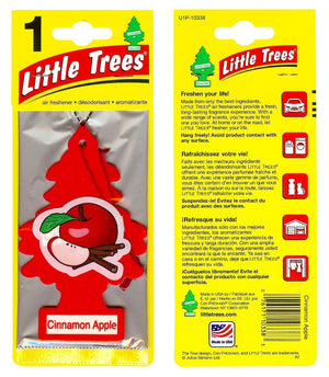Aromatizante para carro - Little Trees (Cinnamon Apple) 24 UNIDADES
