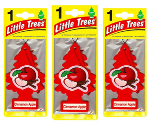 Aromatizante para carro - Little Trees (Cinnamon Apple) 6 UNIDADES