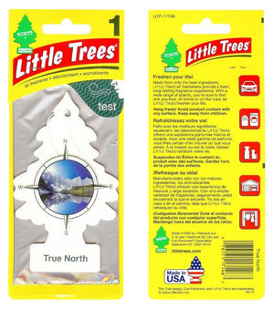 Aromatizante para carro - Little Trees (True North) 6 UNIDADES