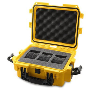 Invicta IG0097-SM1S-Y 3 Slot Yellow Plastic Watch Box Case