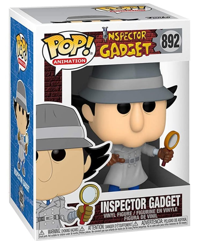 892 FUNKO - Pop! Animation: Inspector Gadget - Inspector Gadget (Styles May Vary)