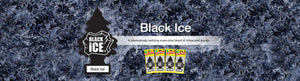Aromatizante para carro - Little Trees (Black Ice)24 UNIDADES
