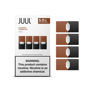 JUUL PODS - 5.0% NICOTINE CLASSIC TOBACCO