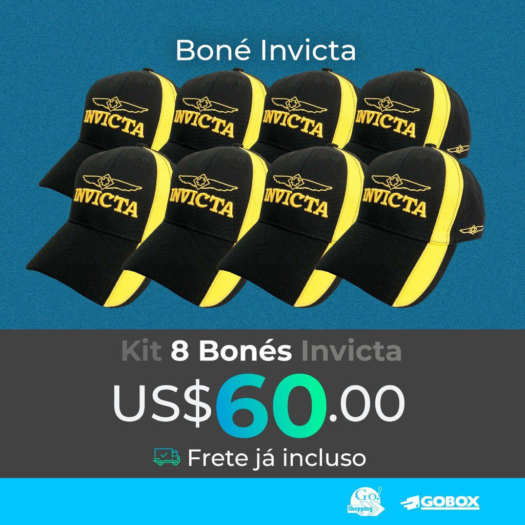 KIT BONES INVICTA 8 UNIDADES