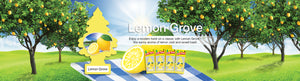 Aromatizante para carro - Little Trees (Lemon Grove) 24 UNIDADES