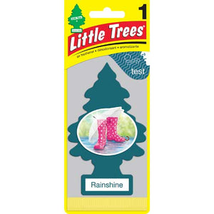 Aromatizante para carro - Little Trees (Rainshine) 24 UNIDADES