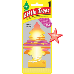 Aromatizante para carro - Little Trees (Sunset Beach) 24 UNIDADES