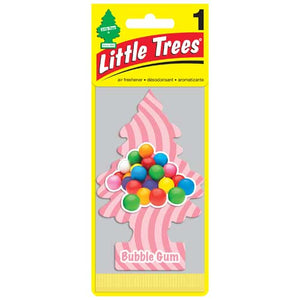 Aromatizante para carro - Little Trees (Bubble Gum) 24 UNIDADES