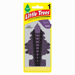 Aromatizante para carro - Little Trees (Bold Embrace) 24 UNIDADES
