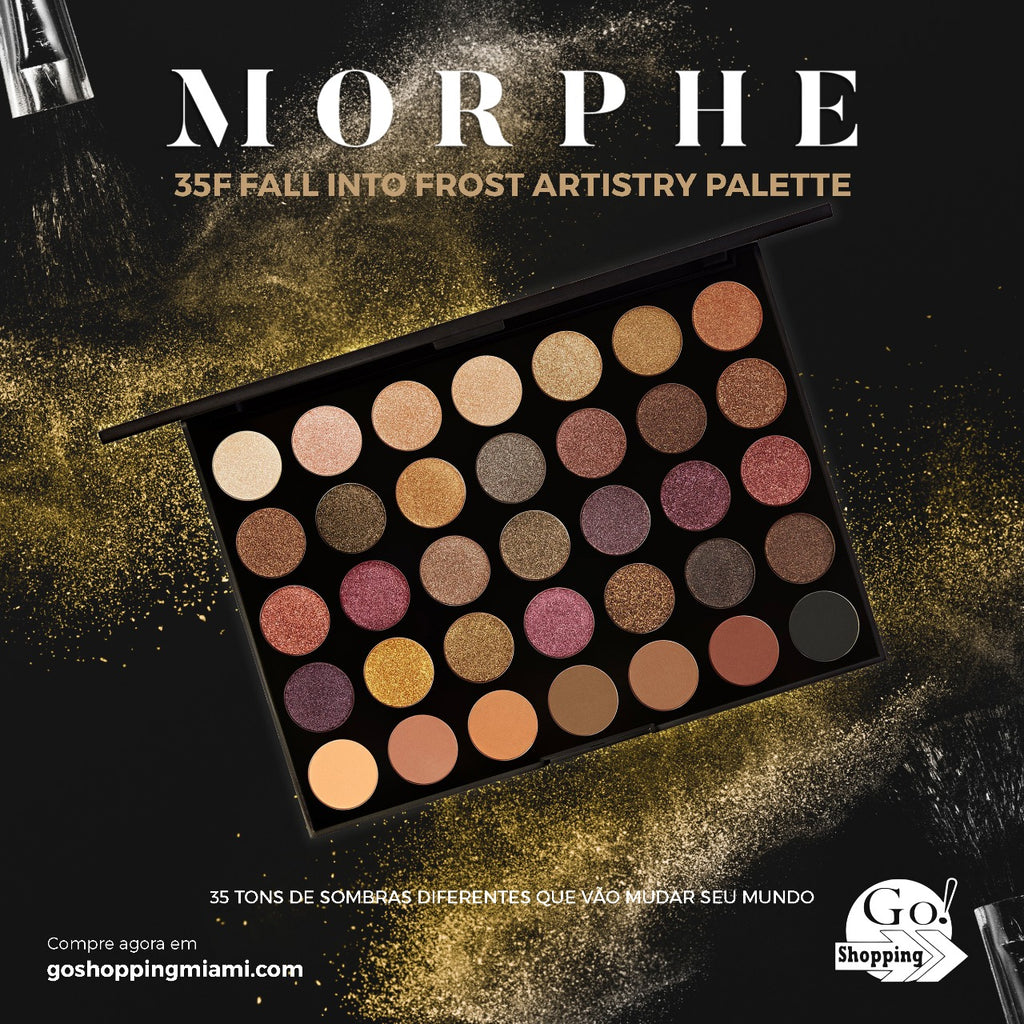 MORPHE 35F Fall Into Frost Eyeshadow Palette( 56g )