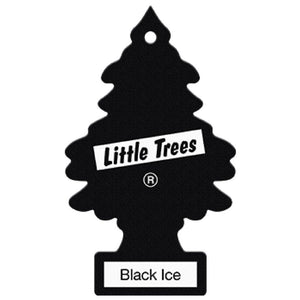 Aromatizante para carro - Little Trees (Black Ice) 72 UNIDADES