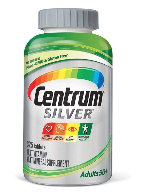 Centrum Silver Adults 50+   ( 325 Tablets )