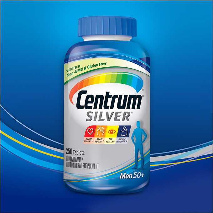 Centrum Silver Men 50+ - 250 Tablets