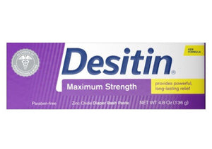 Desitin Maximum Strength, 4.8 Oz (136gr)