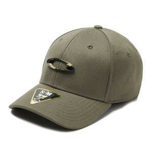 Bone Oakley Tincan hat (Worn Olive/Graphic Camo)
