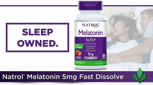Natrol Melatonin 5 mg., 250 Fast Dissolve Tablets