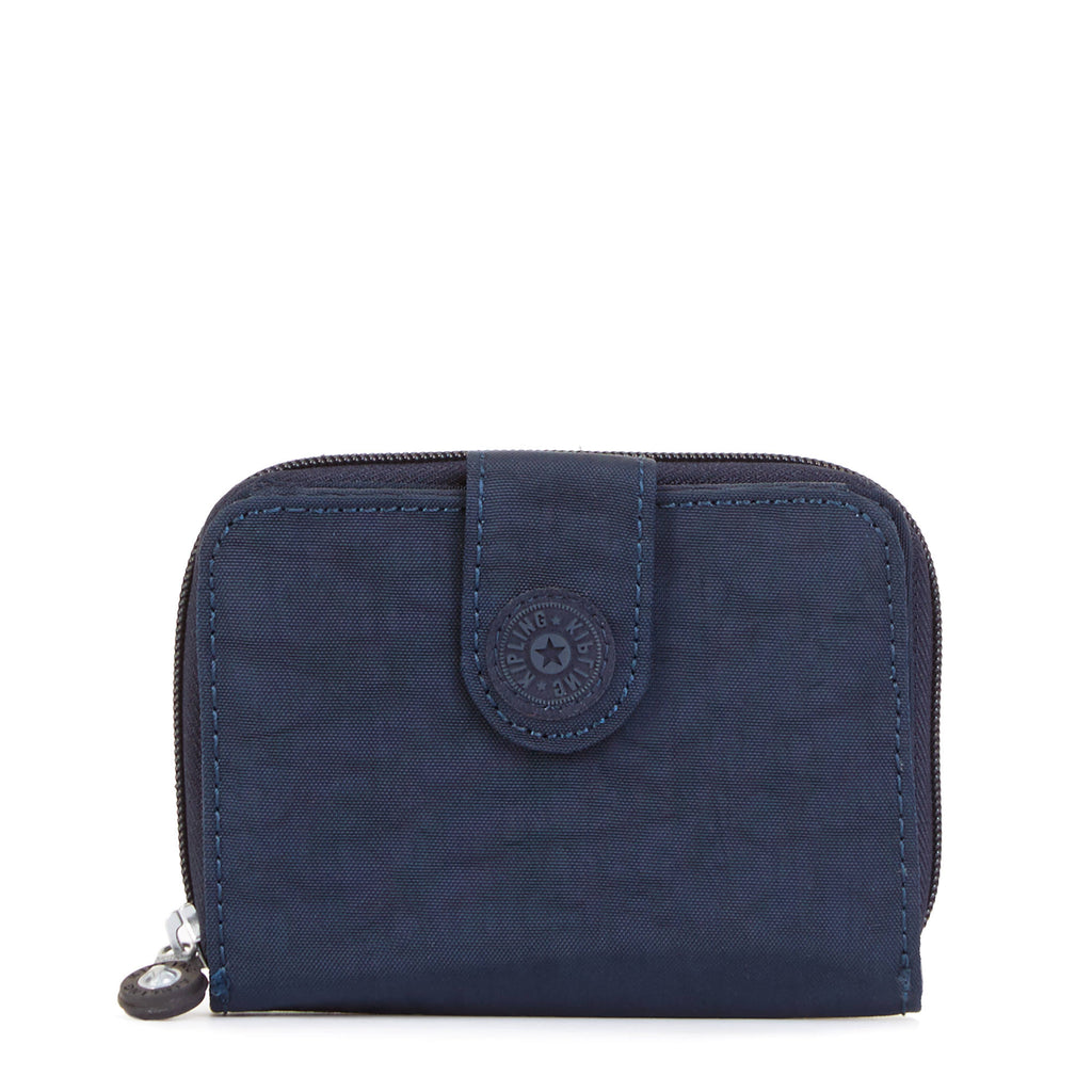Kipling New Money Small Credit Card Wallet - True Blue