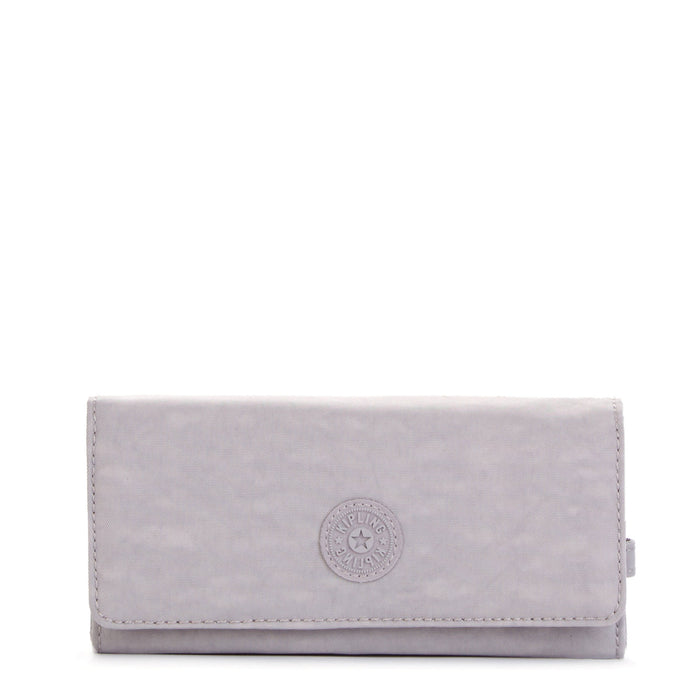 Kipling New Teddi Snap Wallet - Slate Grey