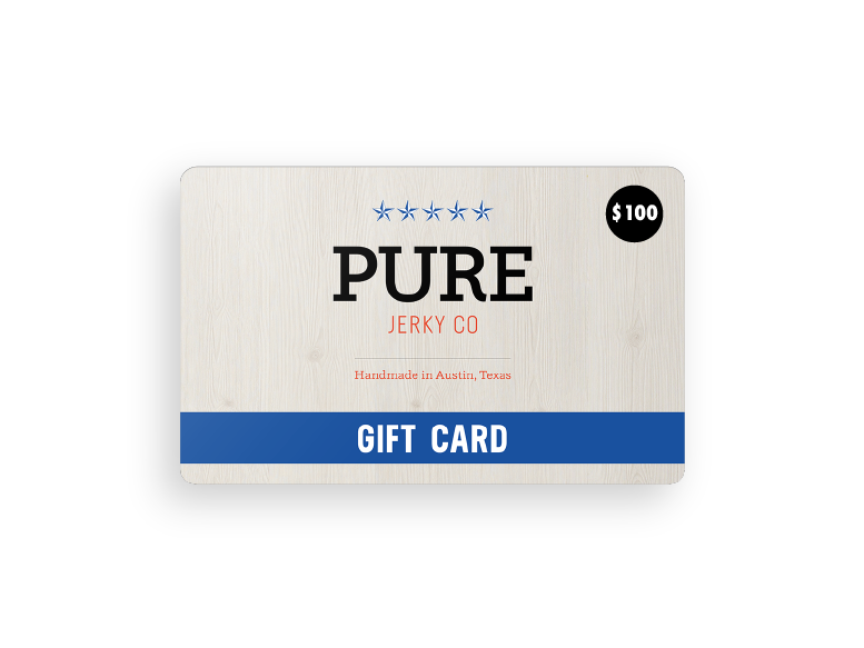 Pure Jerky<br>Gift Card