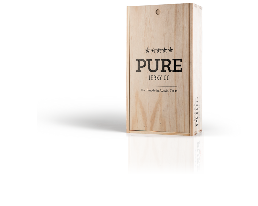 Pure Jerky One Pound Gift Box