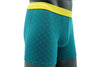 NTH DEGREE MODAL 40S TRIM FIT BOXER TEAL FANCY SQUARE