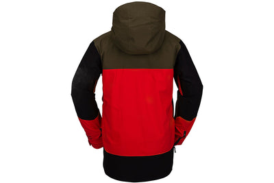 Volcom BL Stretch Gore-Tex Jacket Sample Resin Red