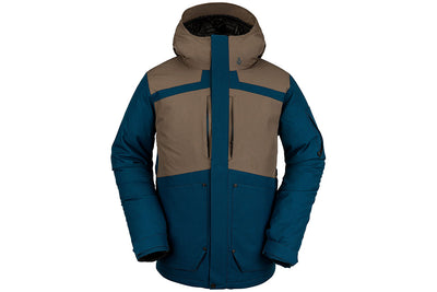Volcom Scortch Insulated Jacket Sample Blue