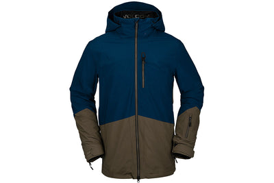 Volcom BL Stretch Gore-Tex Jacket Sample Resin Blue