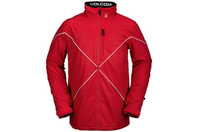 Volcom No Hood X Jacket Sample Red