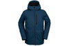 Volcom Deadly Stones Insulated Jacket Sample Blue